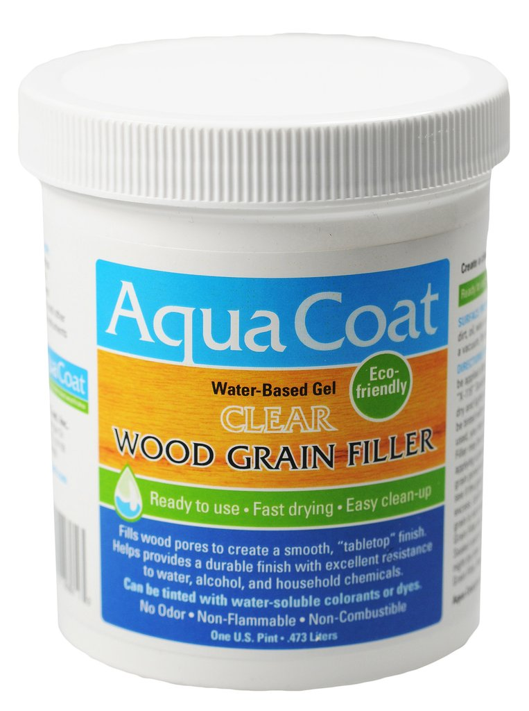 AQUA COAT Clear Wood Grain Filler