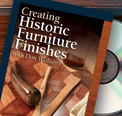 Creating Historic Furniture Finishes - DVD