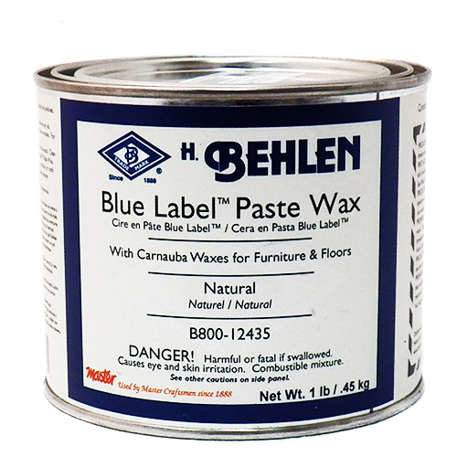 Blue Label Paste Wax