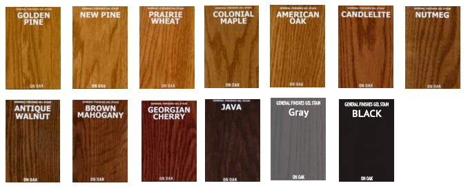 Always Test Stain On A Piece Of The Same Wood Or Hidden Area Project To Verify Your Desired Color