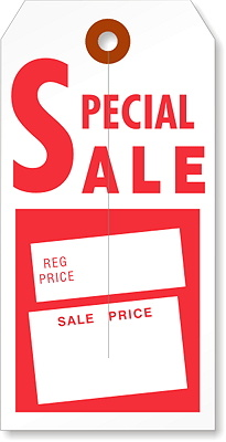 Special Sale Tag SS50