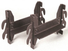 Hook-On Display Rails
