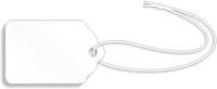 White Merchandise Tag